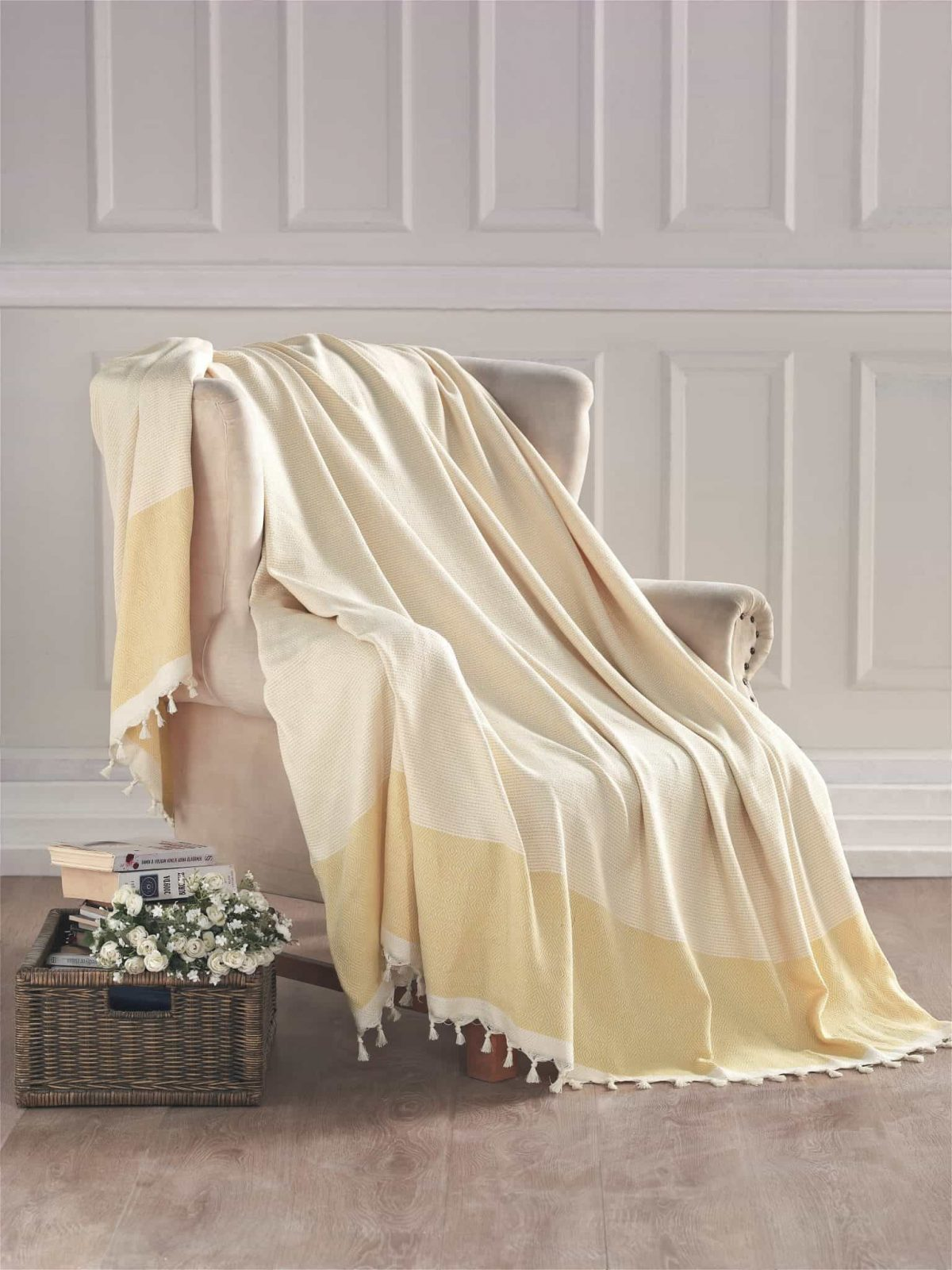 Enchante Home Diamente Throws and Towels, Cotton Turkish Towels and Bath Towels. Best Towels Shopping Store by Enchante Home